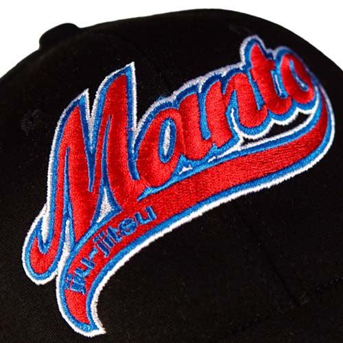 Manto Logo Flexfit Cap - Black