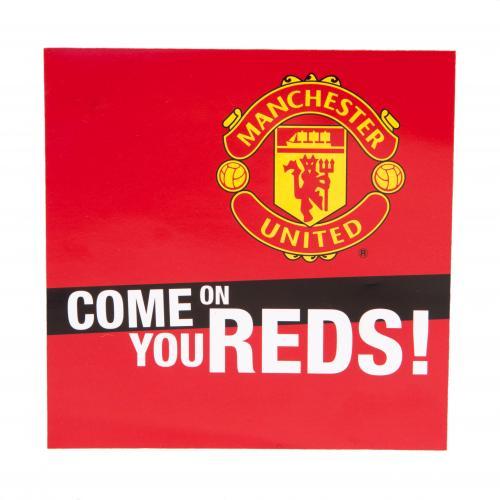 Manchester United F.C. Window Sticker SQ