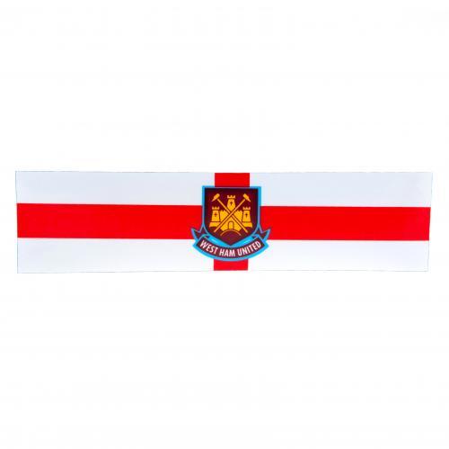 West Ham United F.C. Window Sticker St George