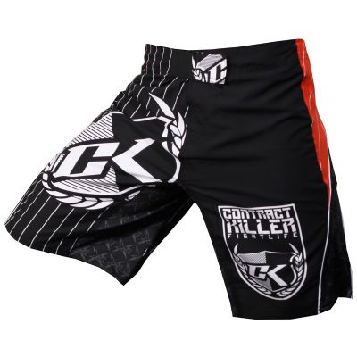 Contract Killer Circuit Fight Shorts Black/Red