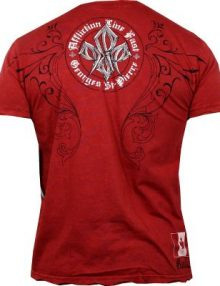 Affliction Georges St. Pierre Signature T Shirt