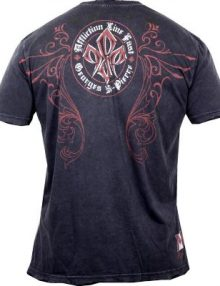 Affliction GSP Truth Signature T Shirt - Black