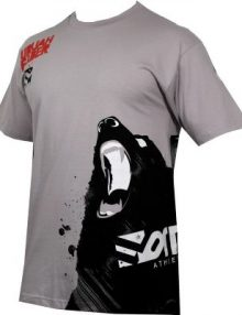 Form Athletics Bloody Bear T Shirt - Pewter