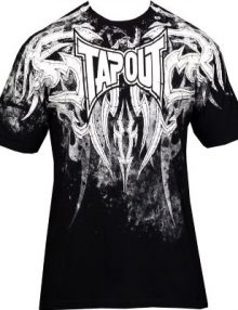 Tapout Corruption T Shirt - Black