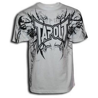 Tapout Darkside T Shirt - White