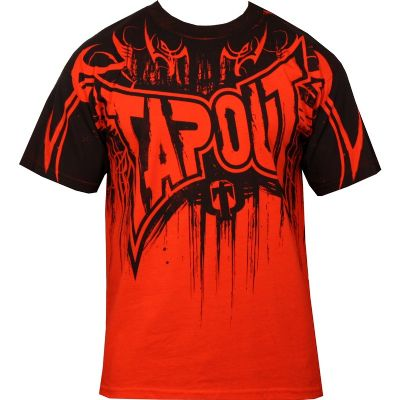 Tapout Dark Dream T Shirt - Red
