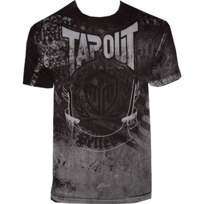 Tapout Rampage Believe Walkout T Shirt - Black