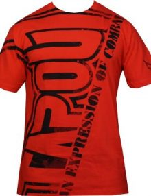 Tapout Hard Core T Shirt - Red