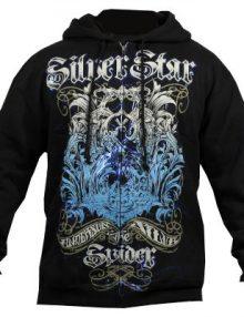 Silver Star Anderson Silva Spider 2 Hoodie - Black