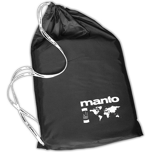 Manto Duffle Bag - Black