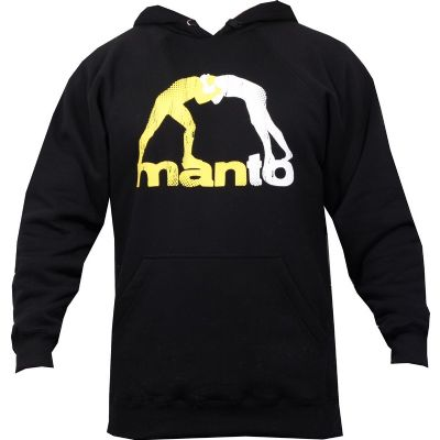 Manto Logo Hoodie - Black
