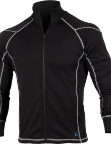 Jaco Mens Hybrid Training Jacket - Black
