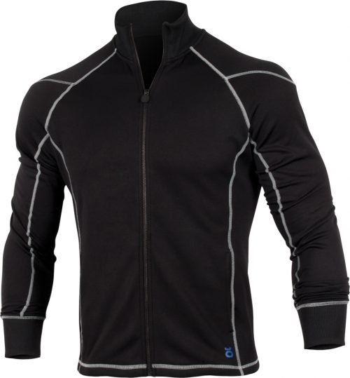 Jaco Mens Hybrid Training Jacket - Black