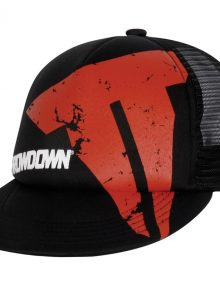 Throwdown Beat Up Trucker Hat - Black