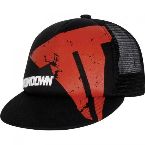 Throwdown Beat Up Trucker Hat - Black