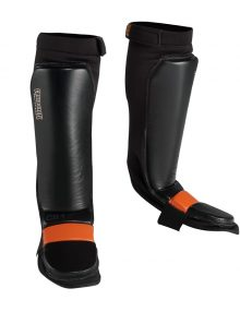 Caged Steel CS1 Shin Guards - Black