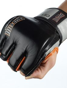 Caged Steel CS1 MMA Fight Gloves - Black