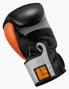 Caged Steel CS1 Boxing Gloves - Black