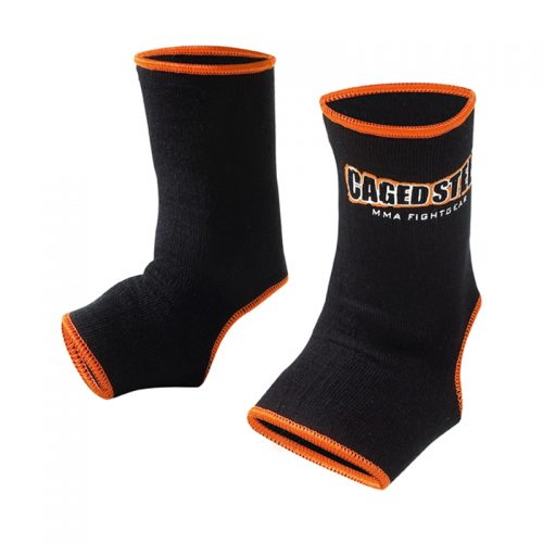 Caged Steel CS1 Anklets - Black