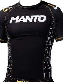 Manto Dynamic Short Sleeve Rashguard - Yellow