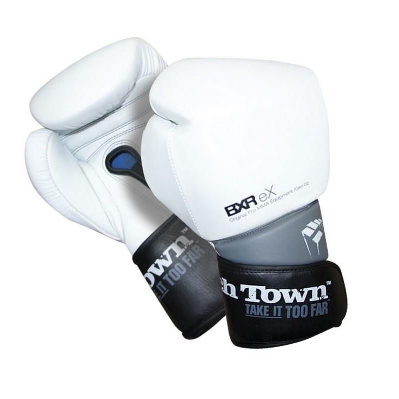 PunchTown BXR eX Boxing Gloves - White