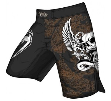 Venum Voodoo 2.0 Fight Shorts - Black