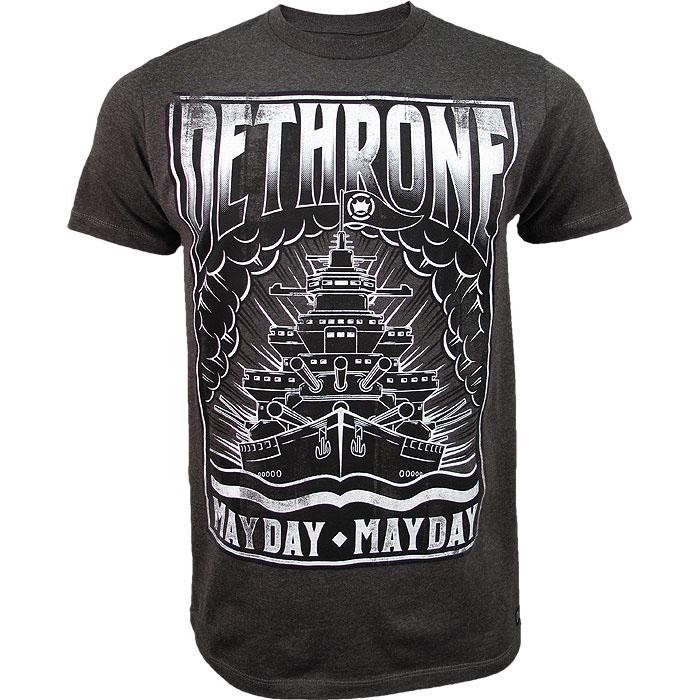 """Dethrone Royalty Michael """"Mayday"""" McDonald 145 Walkout T-Shirt - Grey"""
