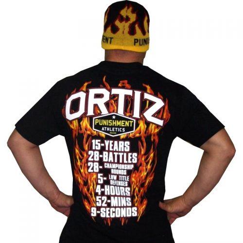 Punishment Athletics Tito Ortiz UFC 148 Walk Out T-Shirt - Black