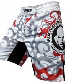 Venum Wanderlei Silva UFC 147 Rio Fight Shorts - White