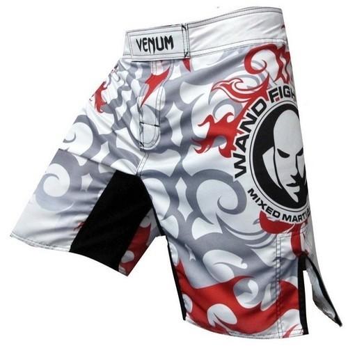 Venum Wanderlei Silva UFC 147 Rio Fight Shorts - White
