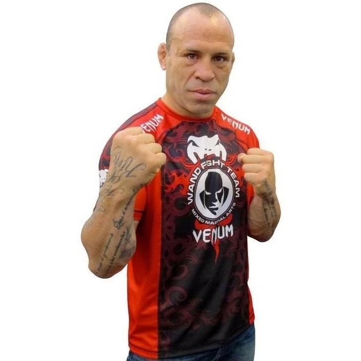 Venum wanderlei silva ufc 147 rio fight shorts white for Wanderlei silva tattoo