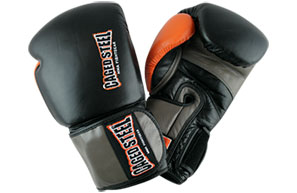 Caged Steel CS1 Pro Boxing Gloves - Black