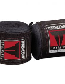 Throwdown Hand Wraps - Black