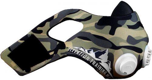Elevation Training Mask 2.0 Camo Sleeve
