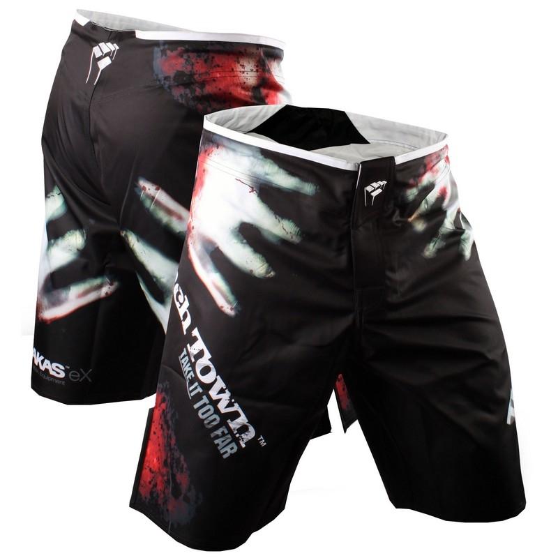 PunchTown Frakas eX The Dead Fight Shorts - Black