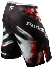 PunchTown Frakas eX The Dead Fight Shorts - Black