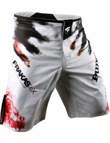 PunchTown Frakas eX The Dead Fight Shorts - White
