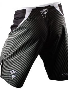 PunchTown Frakas eX Carbon Fight Shorts - Black