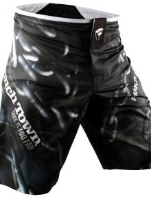 PunchTown Frakas eX Chainz Fight Shorts - Black