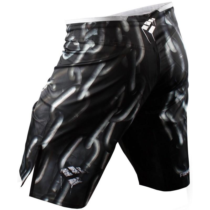 PunchTown Frakas eX Chainz Fight Shorts - Black