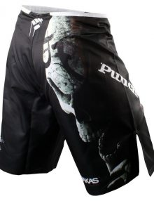 PunchTown Frakas eX Deranged Fight Shorts - Black