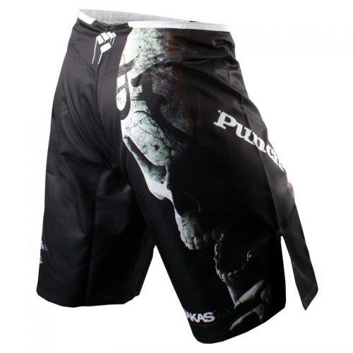 PunchTown Frakas eX Deranged Fight Shorts - Black