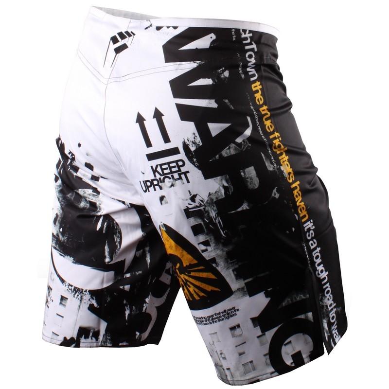 PunchTown Frakas eX Apocalypse Fight Shorts - Black