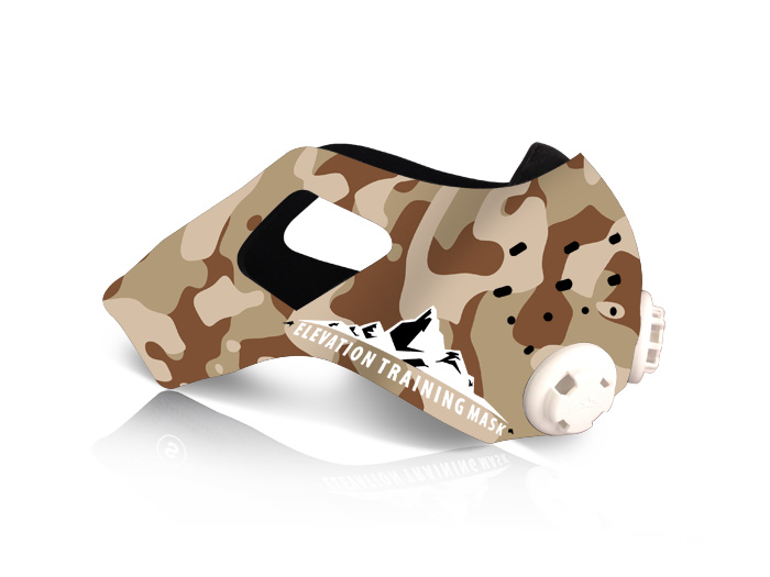 Elevation Training Mask 2.0 Desert Camo Sleeve