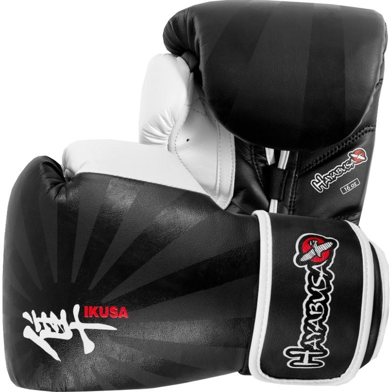 Hayabusa Ikusa™ 16oz Gloves - Black