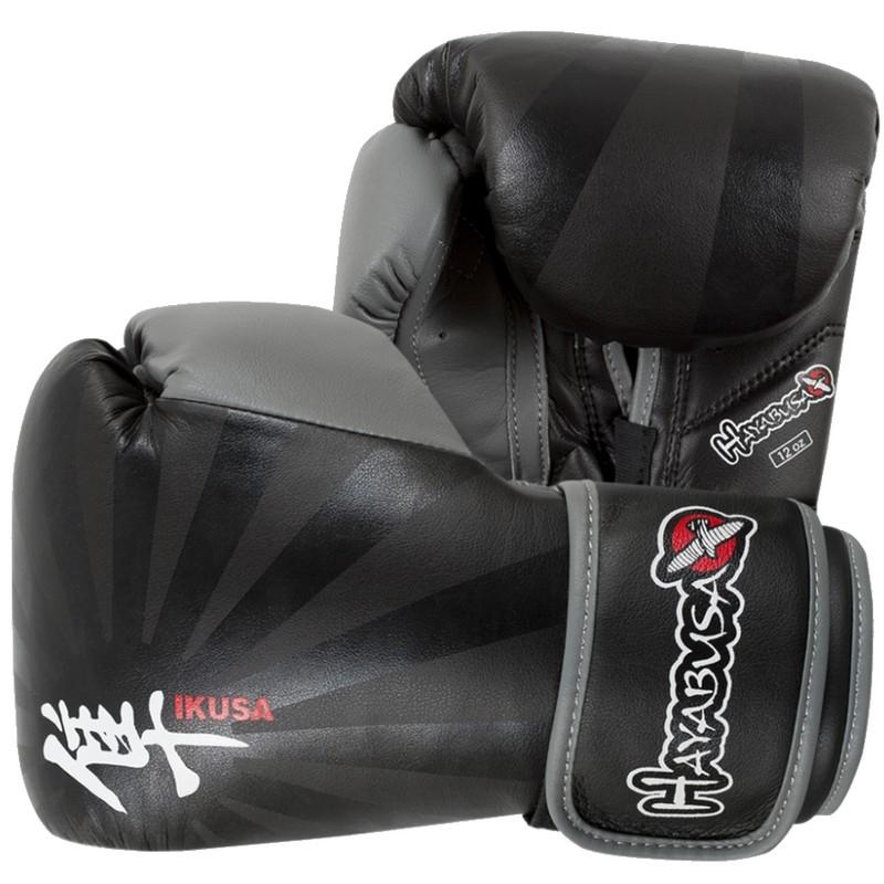 Hayabusa Ikusa™ 12oz Gloves - Black