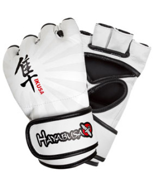 Hayabusa Ikusa™ 4oz MMA Gloves - White