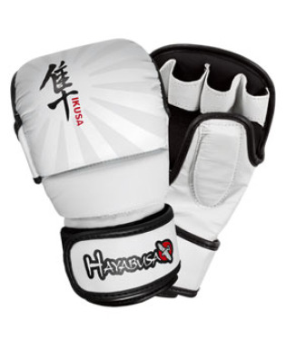 Hayabusa Ikusa™ 7oz Hybrid Gloves - White