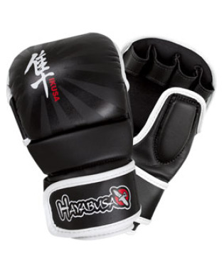 Hayabusa Ikusa™ 7oz Hybrid Gloves - Black