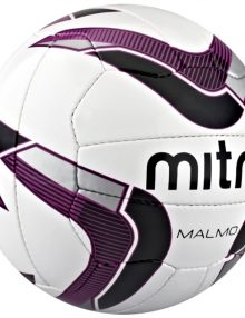 Mitre Malmo Training Football - White
